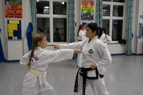 Working with the black belts